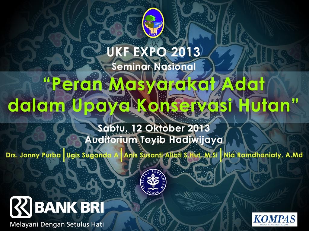 Seminar Nasional UKF EXPO 2013
