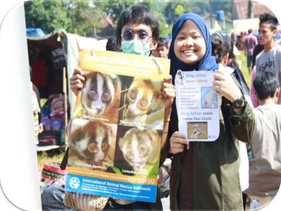 Kampanye Kukang Bersama UKF dan IAR Indonesia