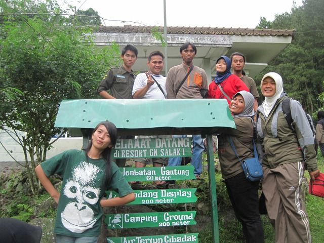 Eksplorasi Kolaboratif Resort Salak Satu TNGHS